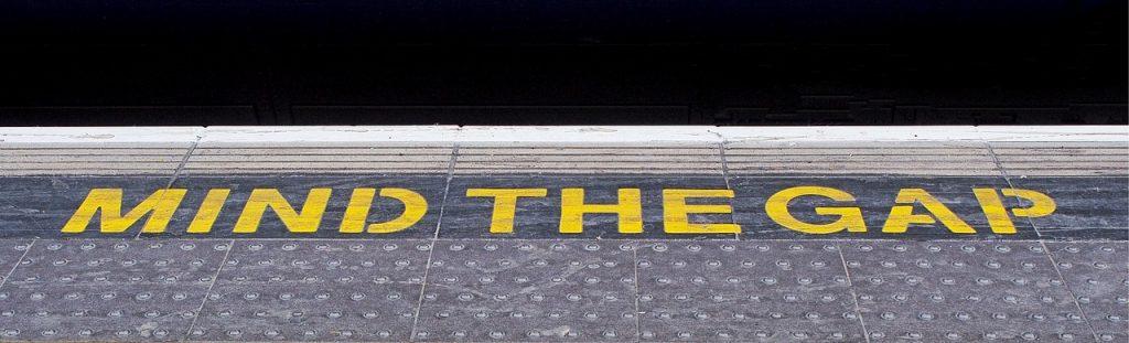 railway platform edge
