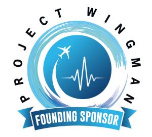 Project Wingman Founding Sponsor Logo