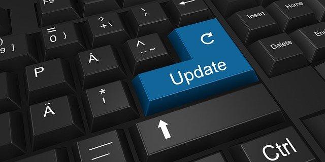 IMAGE: Update key on keyboard technology